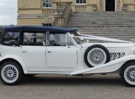 White Beauford for weddings in Chippenham